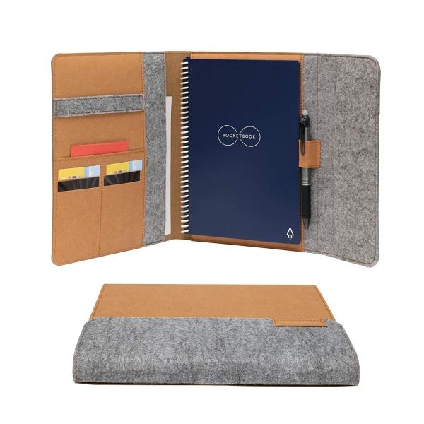 Rocketbook Akıllı Defter Folio (Executive Size)-Mars Sand Tan