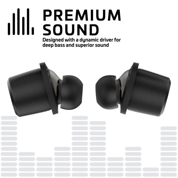 Rowkin Ascent Micro Wireless Kulak İçi Kulaklık-Black