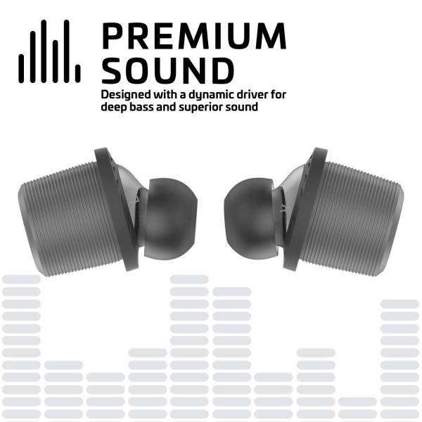 Rowkin Ascent Micro Wireless Kulak İçi Kulaklık-Slate Gray