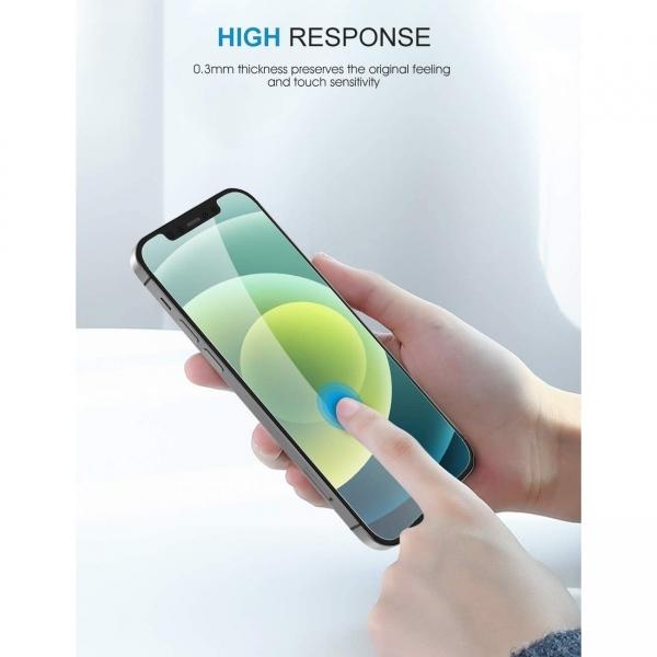 SPARIN iPhone 12 Temperli Cam Ekran Koruyucu (3 Adet)