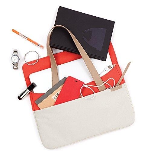 STM Grace Deluxe Laptop Sleeve Çanta (13 inç)-Coral Dove