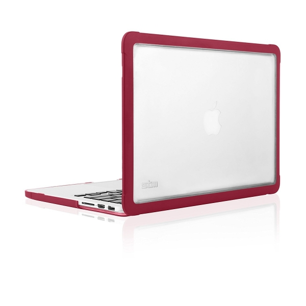 STM MacBook Pro Retina Dux Rugged Kılıf (15 inç)-Chili