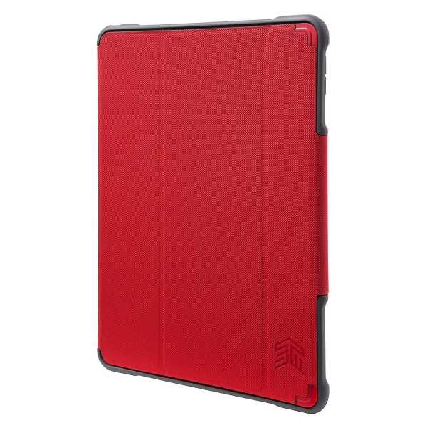 STM iPad Pro 10.5 inç Dux Plus Kılıf (MIL-STD-810G)-Red