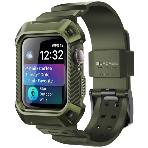 SUPCASE Apple Watch 4 Unicorn Beetle Pro Kılıf (44mm)-Darkgreen