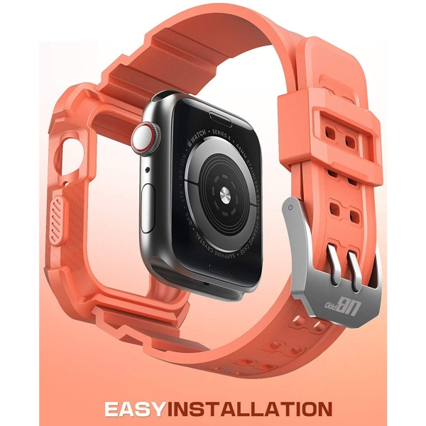 SUPCASE Apple Watch 4 Unicorn Beetle Pro Kılıf (44mm)-Melba