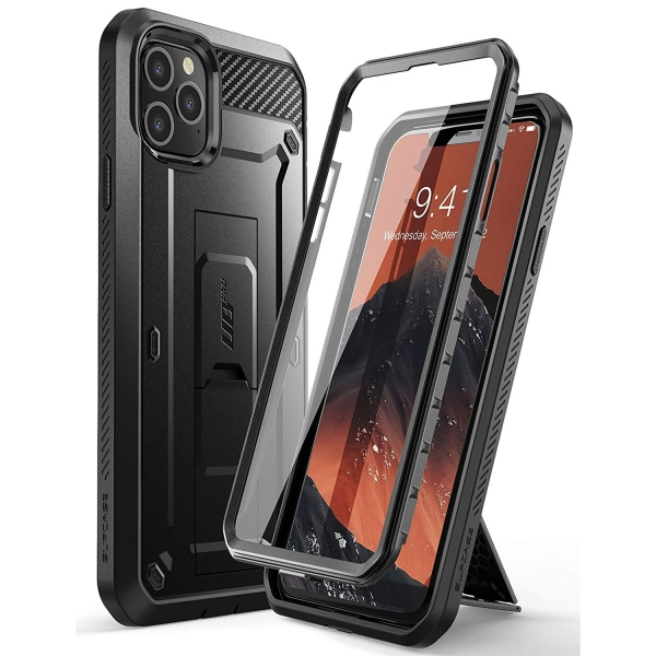 SUPCASE Apple iPhone 11 Pro Max Unicorn Beetle Pro Serisi Kılıf-Black