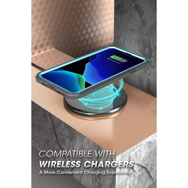 SUPCASE Apple iPhone 11 Pro Max Unicorn Beetle Pro Serisi Kılıf-Blue
