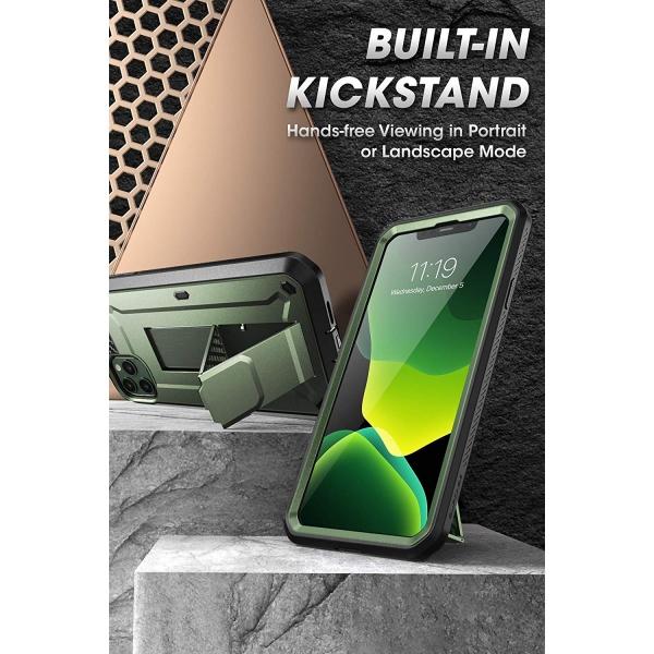 SUPCASE Apple iPhone 11 Pro Max Unicorn Beetle Pro Serisi Kılıf-Green