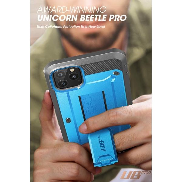SUPCASE Apple iPhone 11 Pro Unicorn Beetle Pro Serisi Kılıf-Blue