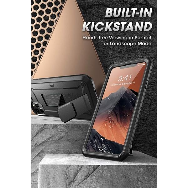 SUPCASE Apple iPhone 11 Pro Unicorn Beetle Pro Serisi Kılıf-Black