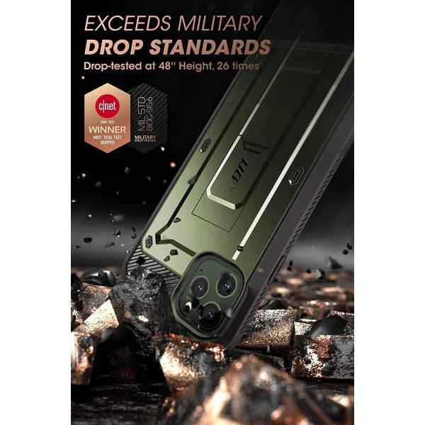 SUPCASE Apple iPhone 11 Pro Unicorn Beetle Pro Serisi Kılıf-Green