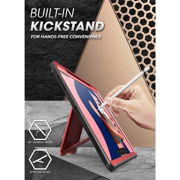 SUPCASE iPad Pro UB Pro Kalem Bölmeli Kılıf (12.9 inç)(4.Nesil)-Red