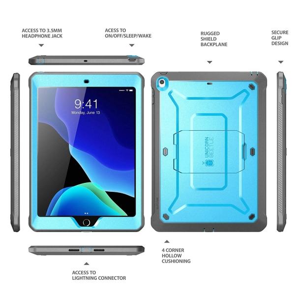 SUPCASE iPad Unicorn Beetle Pro Serisi Kılıf (10.2inç)(7.Nesil)-Blue
