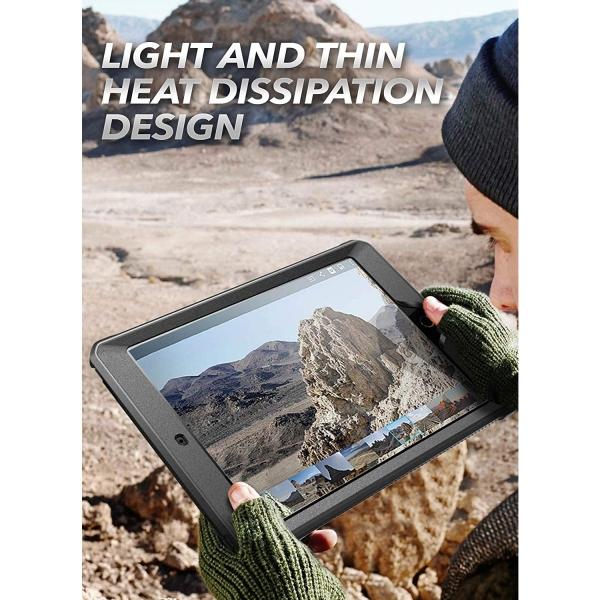 SUPCASE iPad Unicorn Beetle Pro Serisi Kılıf (10.2inç)(7.Nesil)-Black