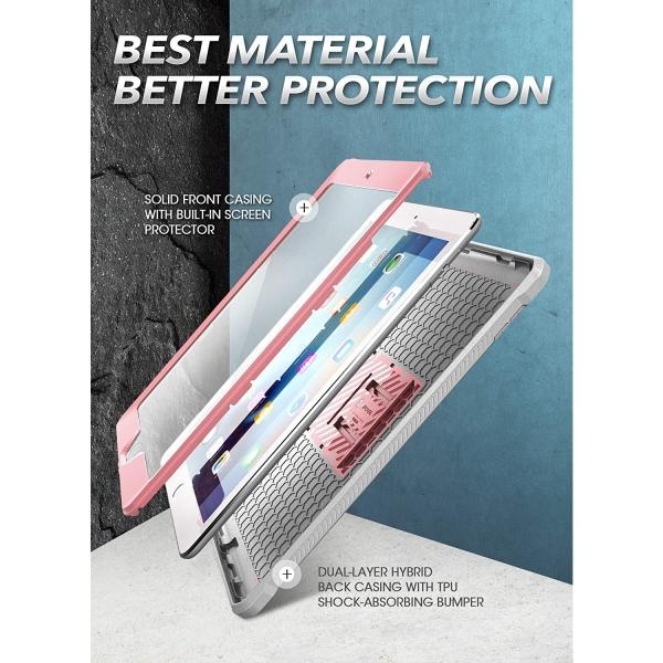 SUPCASE iPad Unicorn Beetle Pro Serisi Kılıf (10.2inç)(7.Nesil)-Rose Gold
