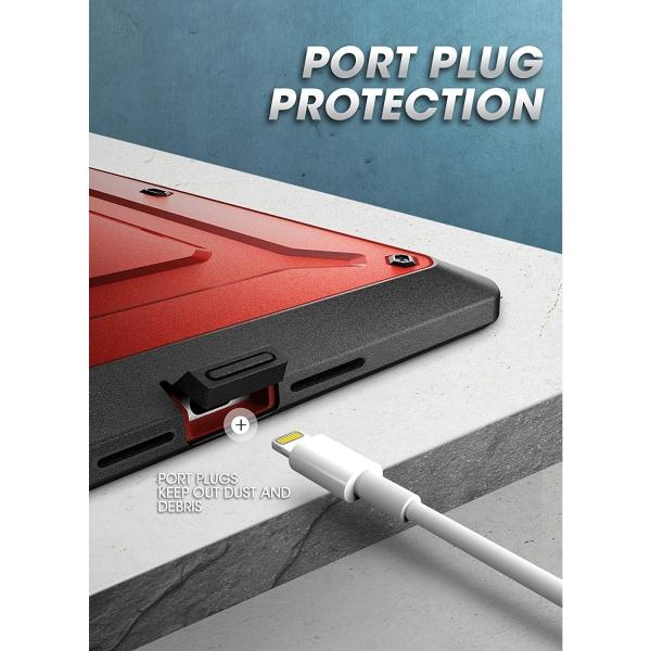 SUPCASE iPad Unicorn Beetle Pro Serisi Kılıf (10.2inç)(7.Nesil)-Red