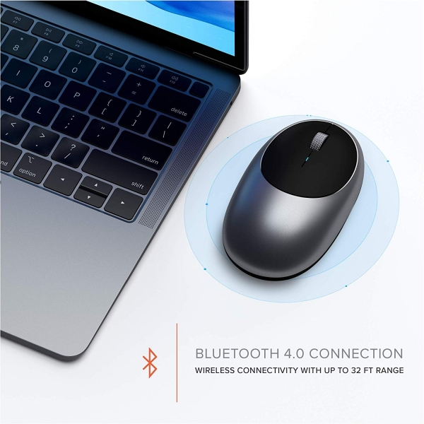 Satechi Alüminyum M1 Bluetooth Kablosuz Mouse-Space Gray