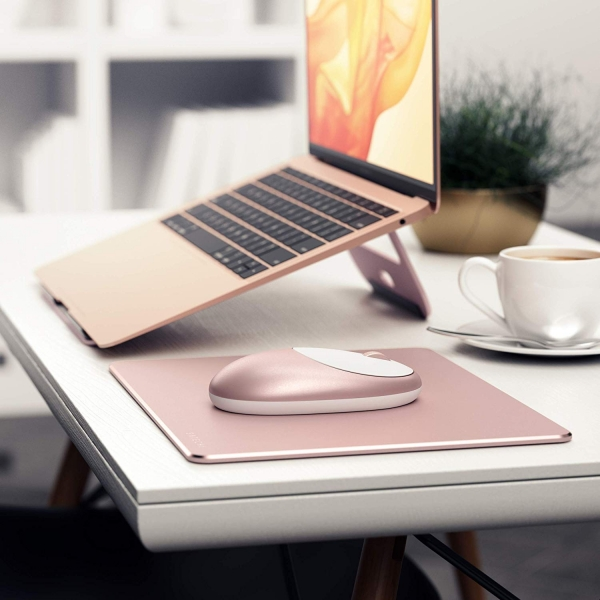 Satechi Alüminyum M1 Bluetooth Kablosuz Mouse-Rose Gold