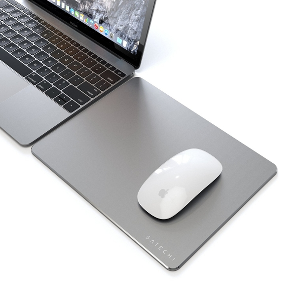 Satechi Alüminyum Mouse Pad / Altlık-Space Gray