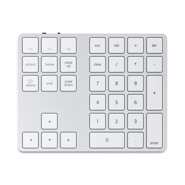 Satechi iOS İçin Alüminyum Bluetooth Tuş Takımı (Silver)
