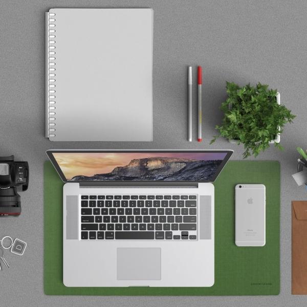 Satechi 24 inç x 14 inç v2.0 Masa Yüzey Koruma Matı-Green