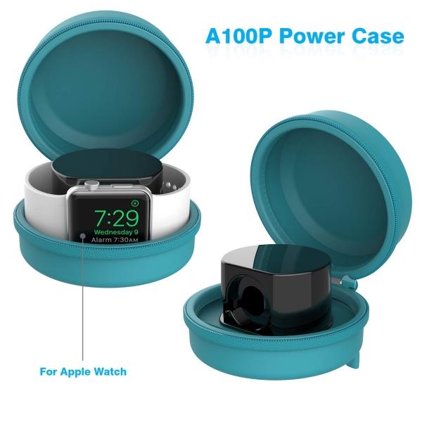 Smatree Apple Watch Şarj Kılıfı-Blue