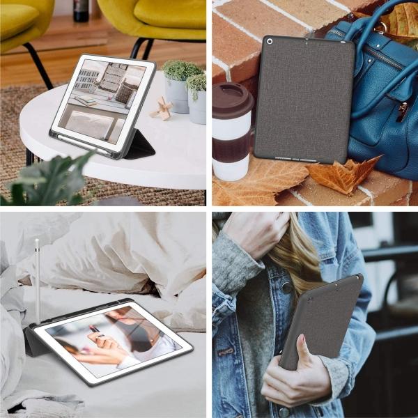 Soke iPad Kalem Bölmeli Kılıf (9.7 inç)