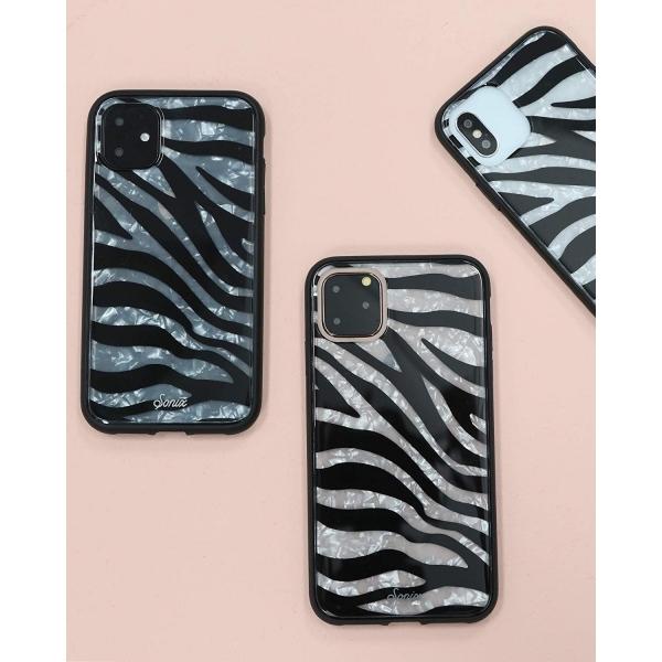 Sonix iPhone 11 Pro Kılıf (MIL-STD-810G)-Zebra