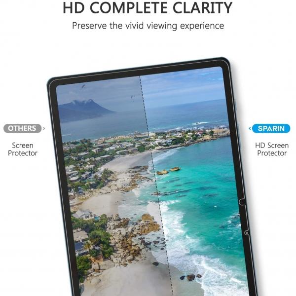 SPARIN Galaxy Tab S7 Temperli Cam Ekran Koruyucu (11 inç)(2 Adet)