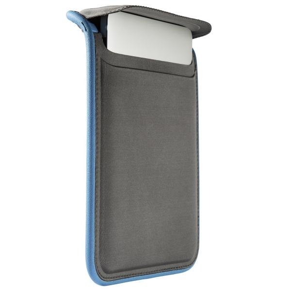 Speck Products Retina Macbook Pro FlapTop Sleeve Kılıf (13 inç)-Graphite Grey Electric Blue