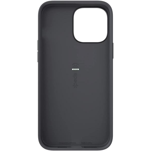 Speck iPhone 13 Pro Max CandyShell Pro Serisi Kılıf (MIL-STD-810G)-Black/Slate Grey