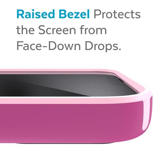 Speck iPhone 13 Pro Max CandyShell Pro Serisi Kılıf (MIL-STD-810G)-Orchid Pink/Rosy Pink