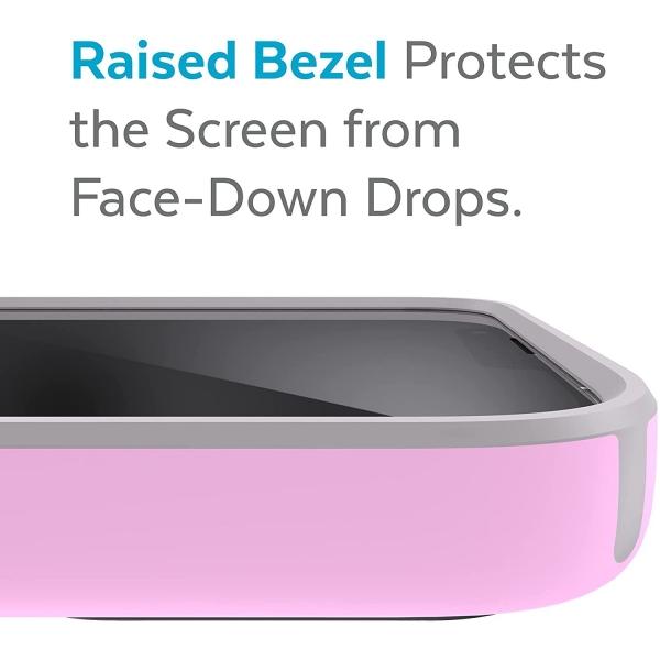 Speck iPhone 13 Pro Max CandyShell Pro Serisi Kılıf (MIL-STD-810G)-Aurora Purple/Cathedral Grey