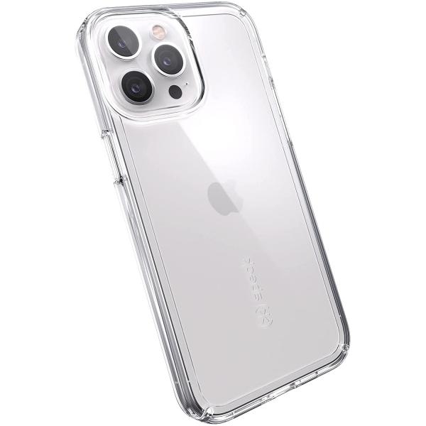 Speck iPhone 13 Pro Max GemShell Serisi Kılıf (MIL-STD-810G)-Clear