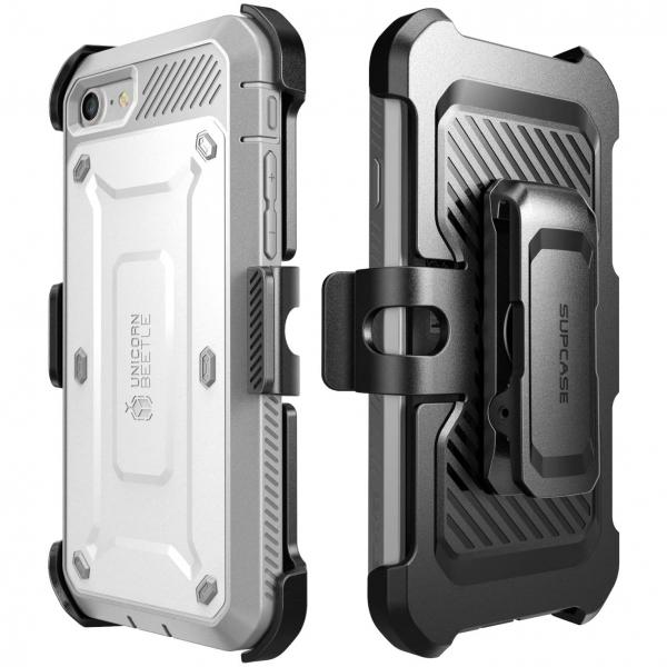 Supcase iPhone SE Unicorn Unicorn Beetle Pro Serisi Kılıf (2.Nesil)-White