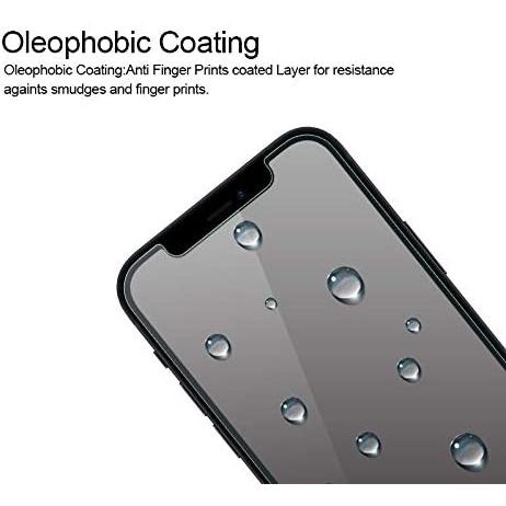 Supershieldz Apple iPhone 12 Temperli Cam Ekran Koruyucu (3 Adet)