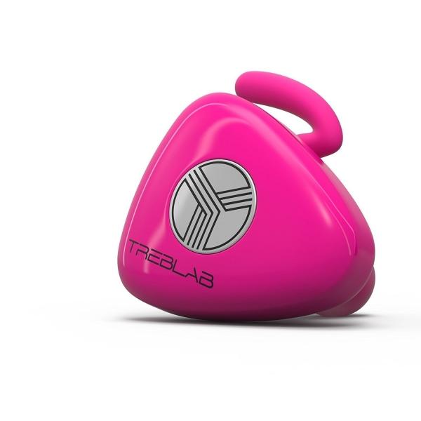 TREBLAB X11 Kablosuz Bluetooth Kancalı Kulaklık-Hot Pink