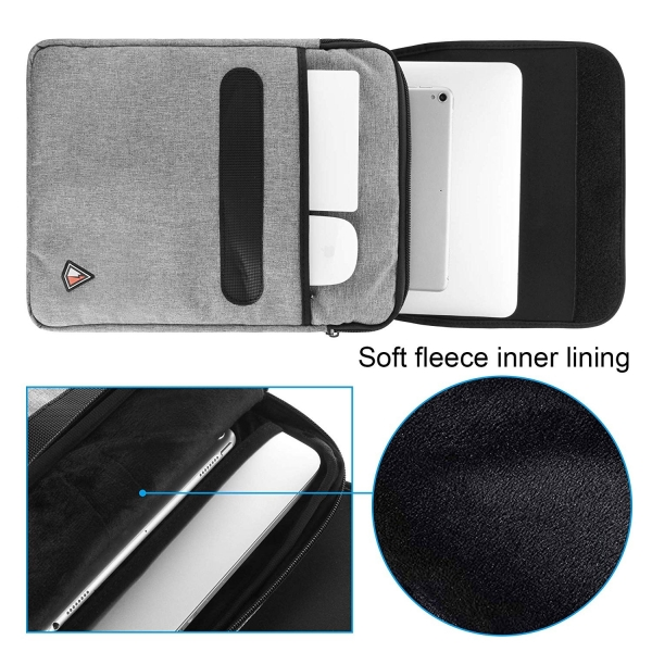 TXEsign Suya Dayanıklı Laptop Sırt Çantası (13-14 inç)-Grey