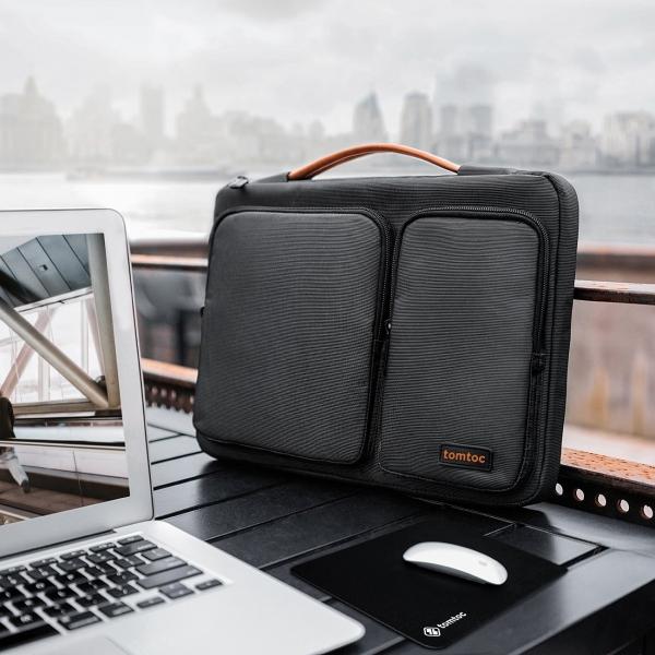 Tomtoc Laptop Çantası (15/15.6 inç)-Black