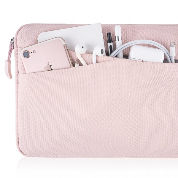 Tomtoc Apple iPad/Samsung Tablet Çantası (10.5 inç)-Baby Pink