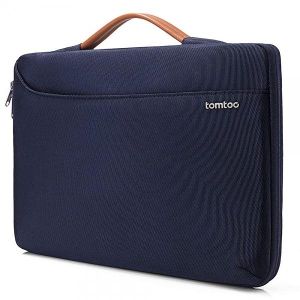 Tomtoc Laptop El Çantası (14-15 inç)-Blue