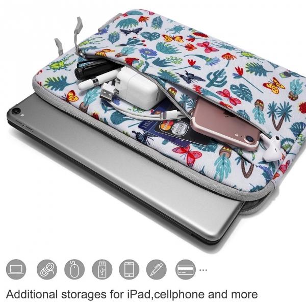 Tomtoc Macbook/Laptop El Çantası (13/13.3 inç)-Grass Green