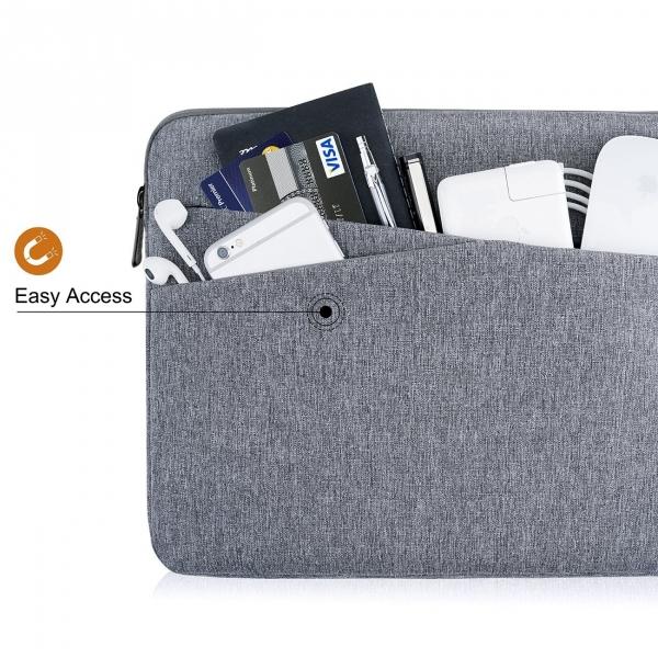 Tomtoc Macbook/Laptop El Çantası (13/13.3 inç)-Gray