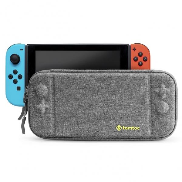Tomtoc Nintendo Switch Taşıma Çantası-Gray