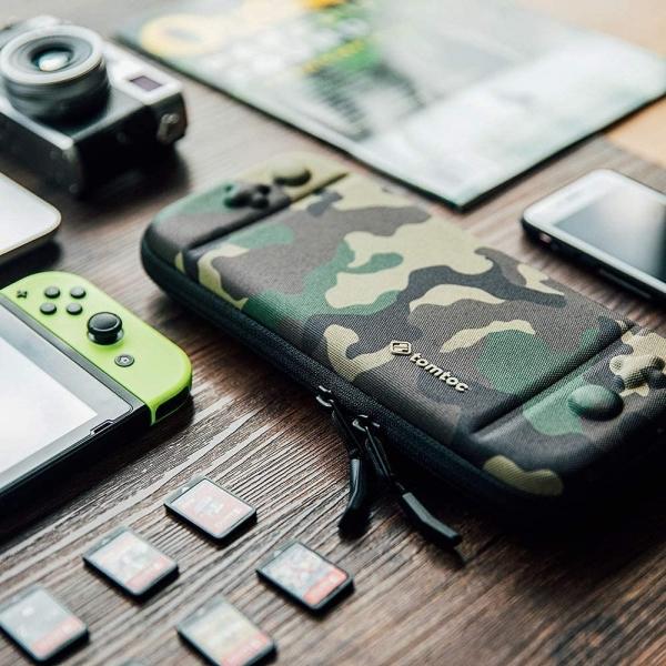 Tomtoc Nintendo Switch Taşıma Çantası-Camouflage