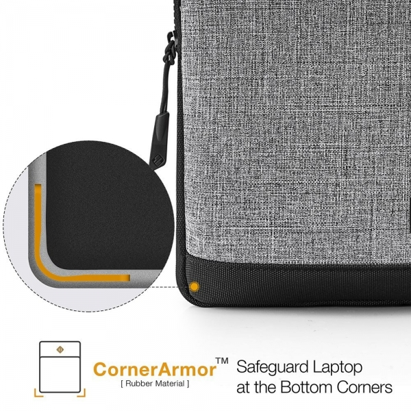 Tomtoc Tablet Omuz Çantası (10.5 inç)-Gray