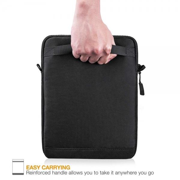 Tomtoc Tablet Omuz Çantası (10.5 inç)-Black