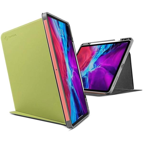 Tomtoc iPad Pro Kalem Bölmeli Kılıf (12.9 inç)-Avocado