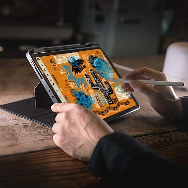 Tomtoc iPad Pro Kalem Bölmeli Smart Kılıf (12.9 inç)