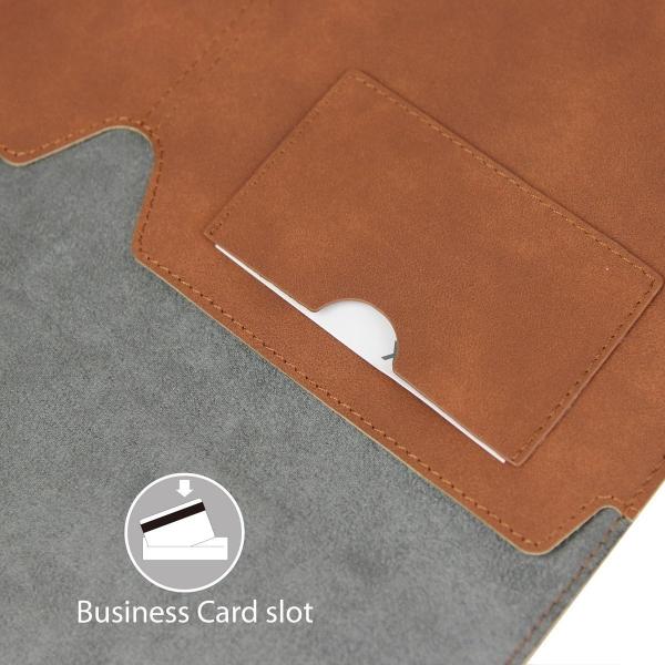 Valkit MacBook Air Deri Kılıf (11 inç)-Brown